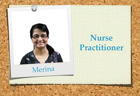 Merina a nurse practitioner