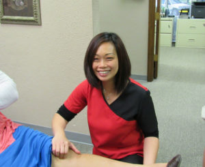 picture of Lisa, our exercise physiologist