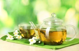 picture of immune-boosting green tea.